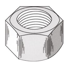 Hexagonal Nut - DSI Underground Australia
